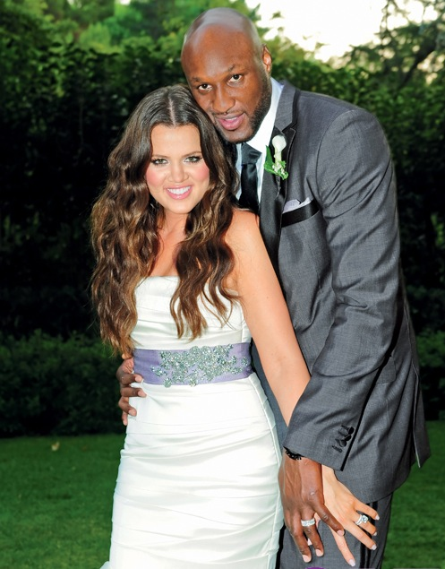Khloe Kardashian and Lamar Odom married- Celebrity Weddings September 2009