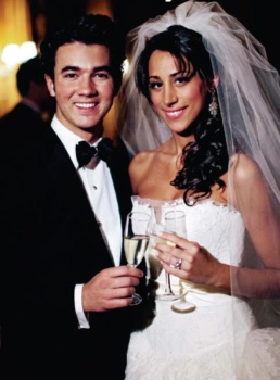 Kevin Jonas and Danielle Deleasa are married.  Celebrity Weddings- December 2009