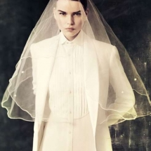 androgynous bride
