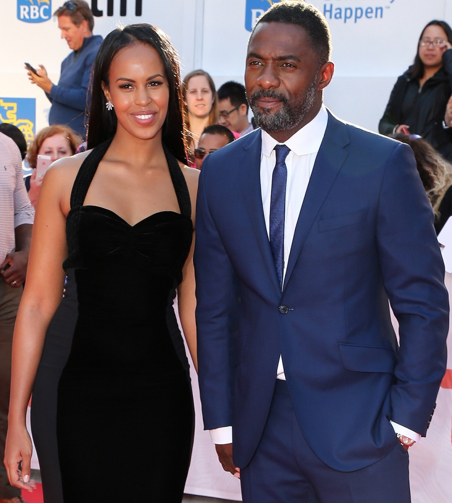 Idris Elba and Sabrina Dhowre are engaged