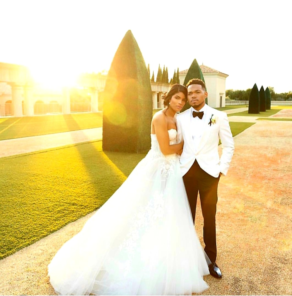 Chance the Rapper is Married