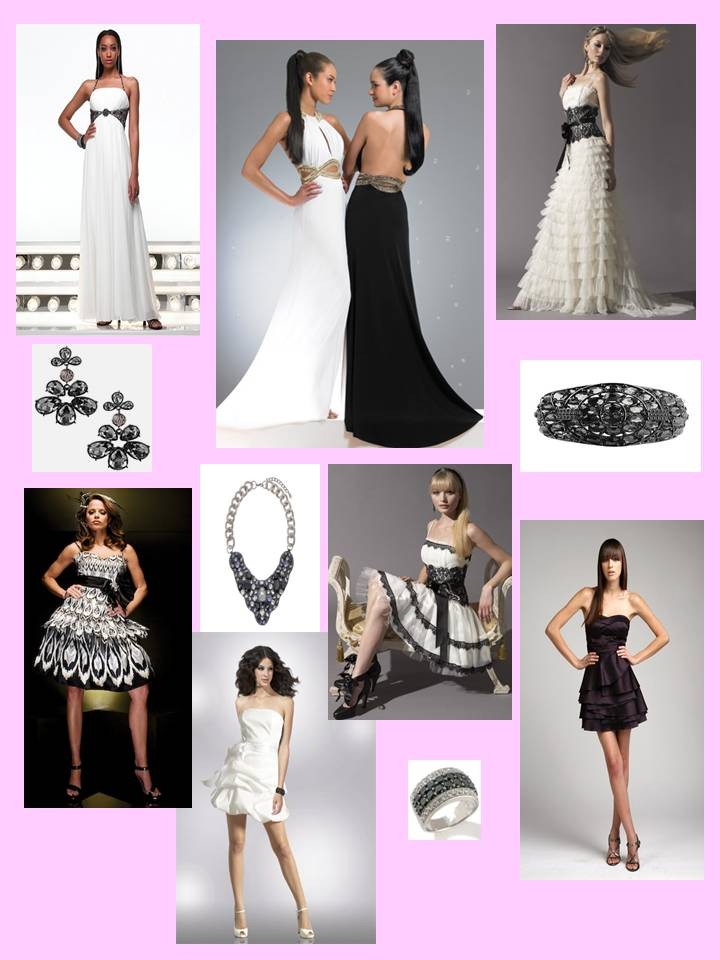 planning a Black & White themed wedding